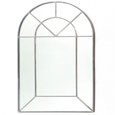 Fred Schilbach Carvers' Guild Colonial Arch Wall Mirror, 1981