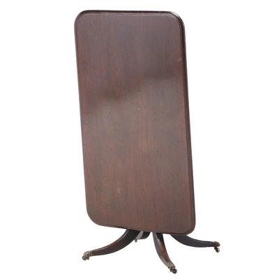 English Mahogany Tilt-Top Breakfast Table, 19th Century