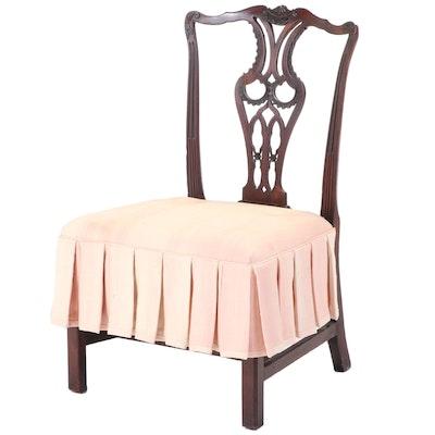 George III Mahogany Side Chair, circa 1800