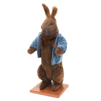 The Hen House Ditz Design Plush Standing Gardening Rabbit