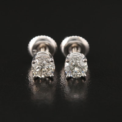 14K 0.94 CTW Diamond Stud Earrings