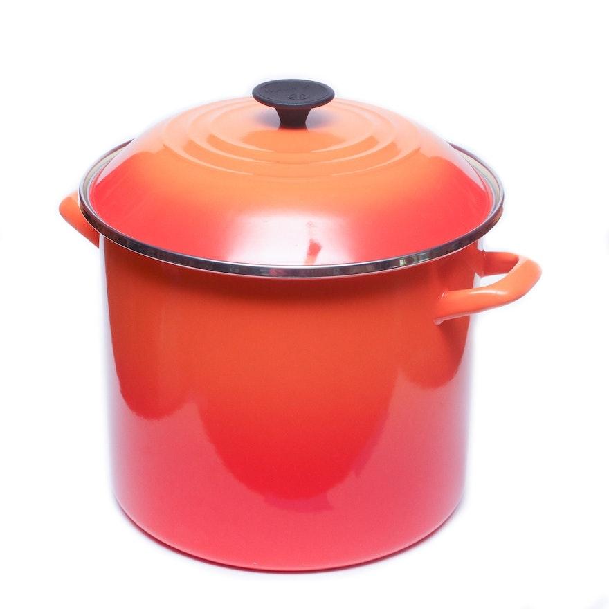 Le Creuset Flame Stock Pot