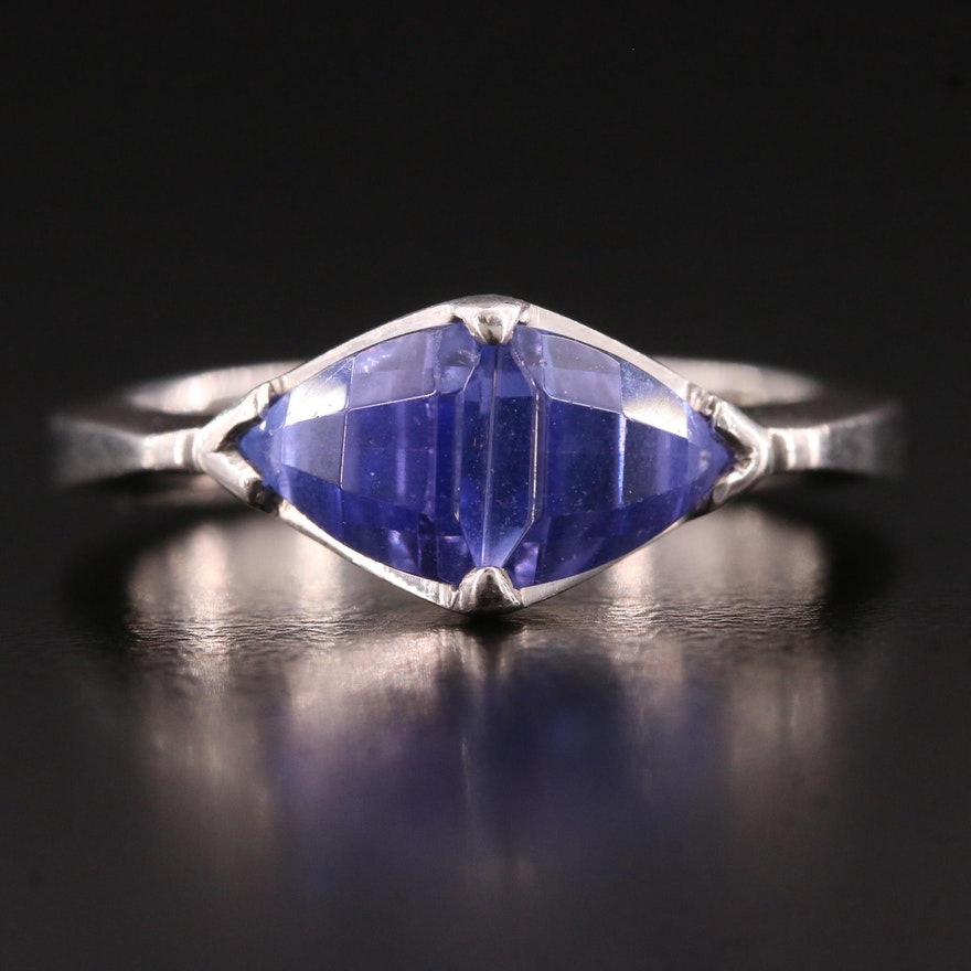 Platinum Tanzanite Ring