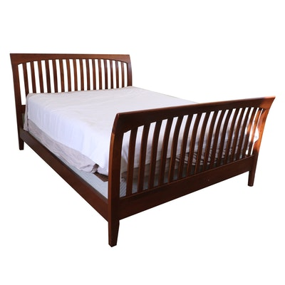 "Ethan Allen ""American Impressions"" Queen Sized Sleigh Bed Frame"