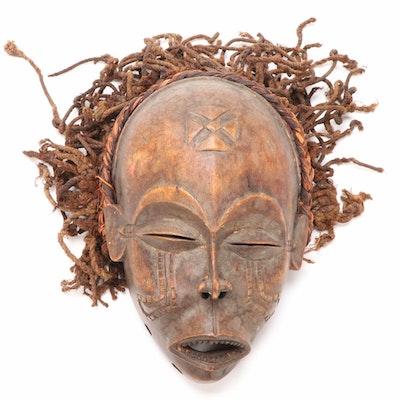 Chokwe Ancestral Spirit Mask, Central Africa