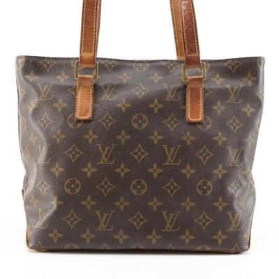 Louis Vuitton Cabas Piano in Monogram Canvas and Vachetta Leather