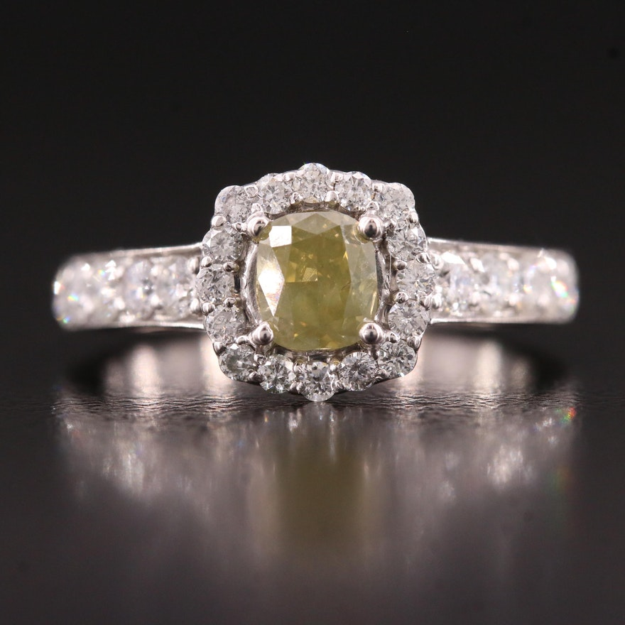14K 1.42 CTW Diamond Ring