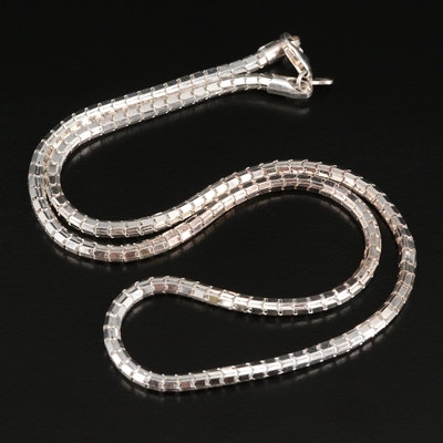 Milor 950 Silver Fancy Link Necklace