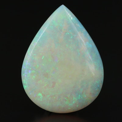 Loose 22.24 CT Pear Opal Cabochon
