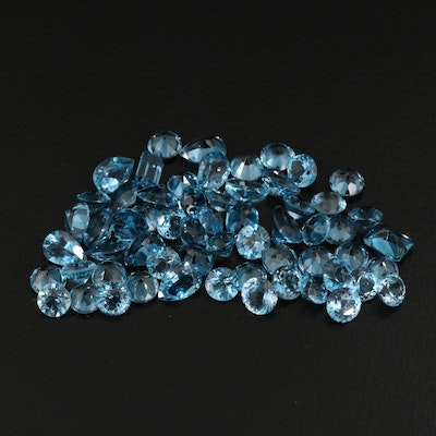 Loose 40.66 CTW Faceted Topaz