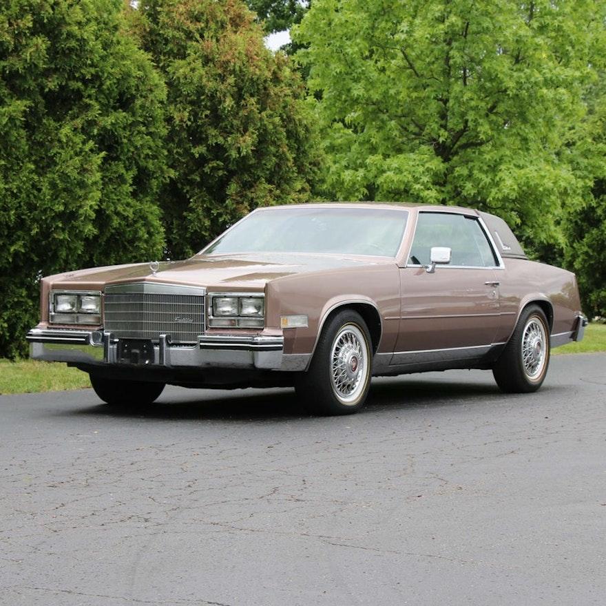 1984 Cadillac Eldorado 2-Door Coupe
