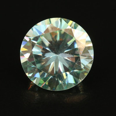 Loose Lab Grown 8.25 CT Round Faceted Moissanite