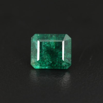 Loose 1.29 CT Rectangular Emerald