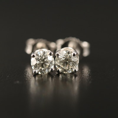 14K 0.68 CTW Diamond Stud Earrings