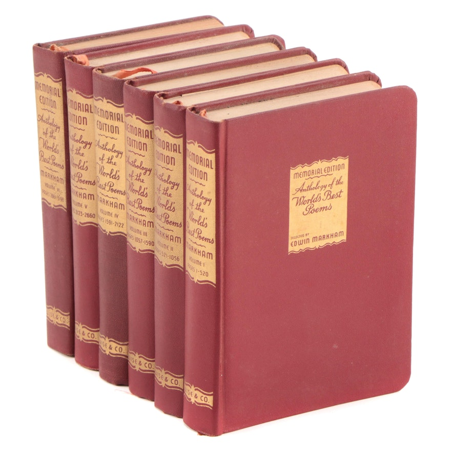 """Anthology of the World's Best Poems"" Edited by Edwin Markham, 1948–1950"