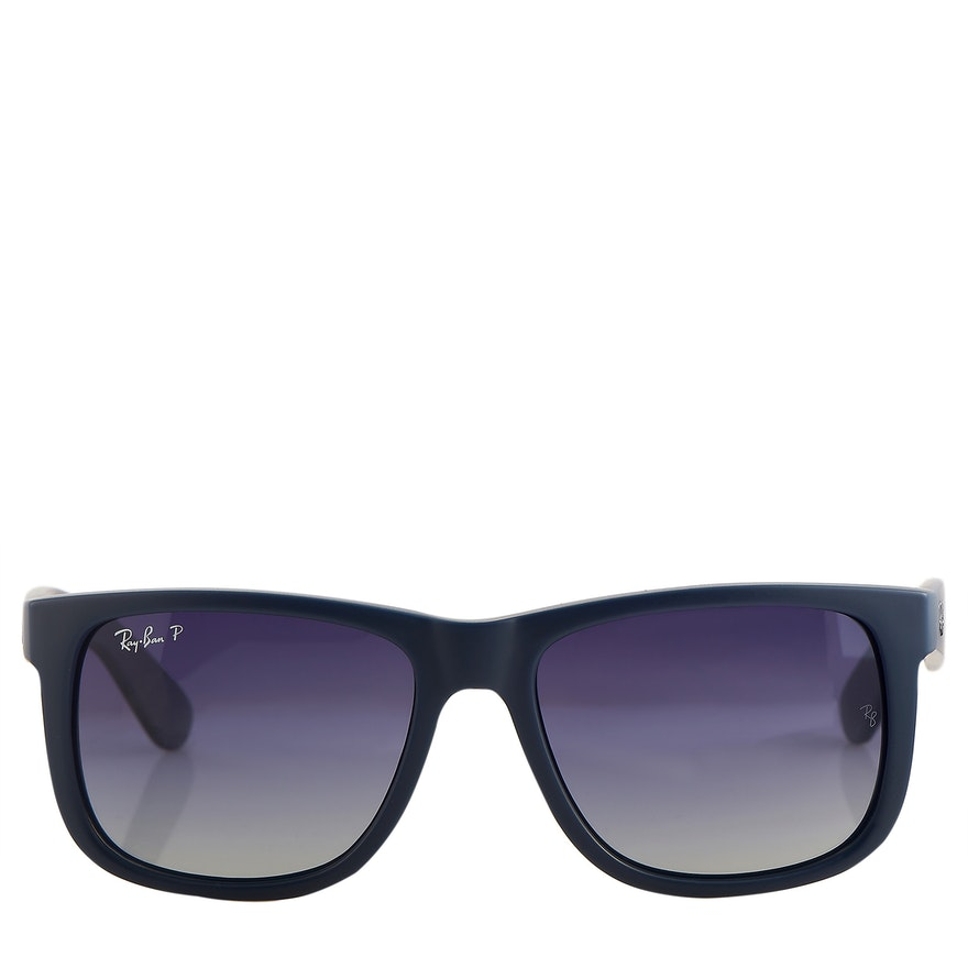 Ray-Ban Polarized Blue Sunglasses with Case