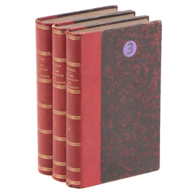 """""""Études philosophiques sur le christianisme"""" by A. Nicolas Partial Set, 1885"""
