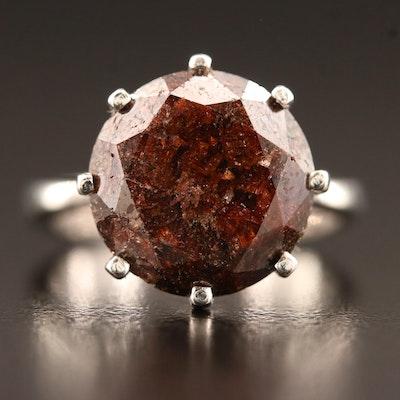 18K 8.55 CT Diamond Ring