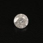 Loose 0.61 CT Round Brilliant Cut Diamond
