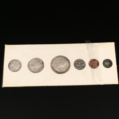 1955 Canadian Mint Coin Set
