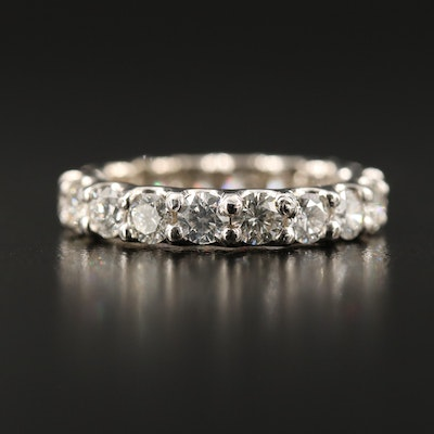14K 2.79 CTW Diamond Eternity Ring