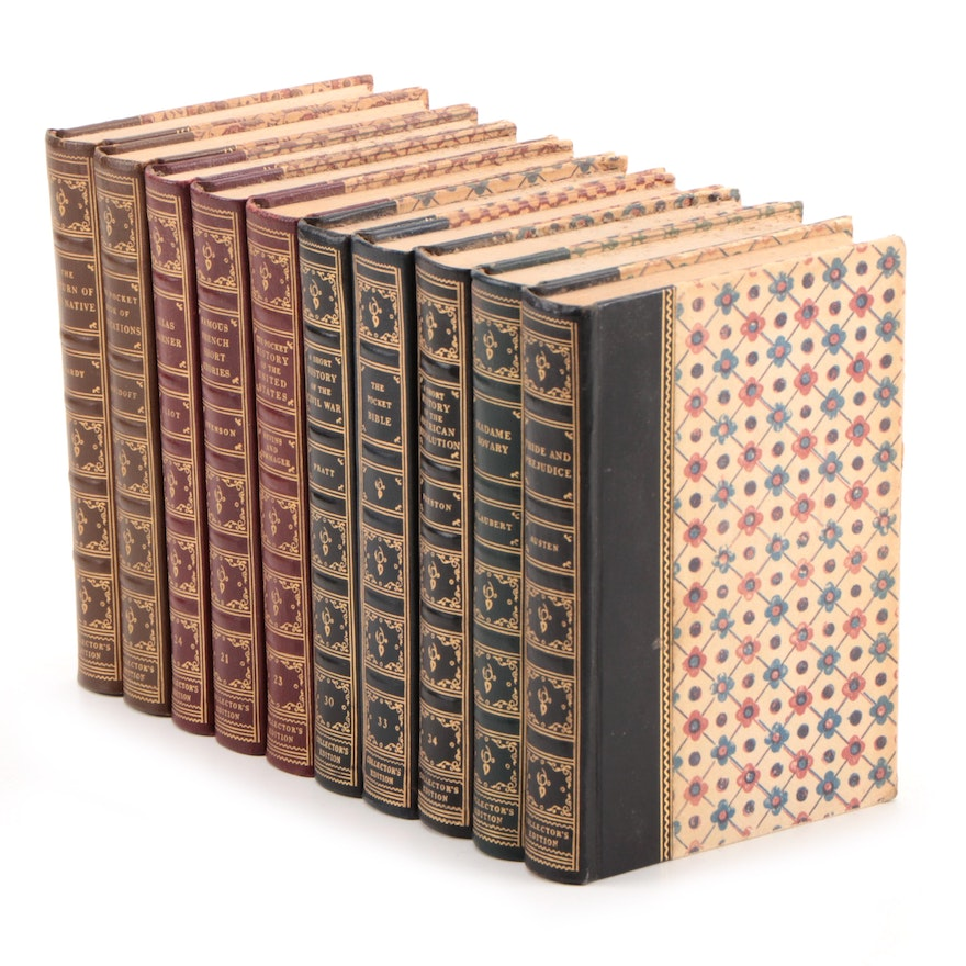 Pocket Books Collector's Editions Fiction and Nonfiction Books, Mid-20th Century