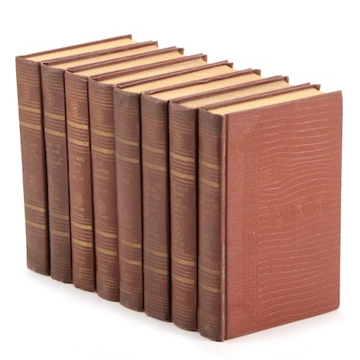"""""""The Works of Rudyard Kipling"""" Incomplete Set, Early to Mid 20th Century"""