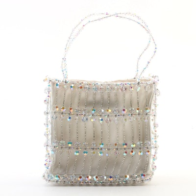 Swarovski Crystal Open Work Evening Bag by Daniel Libeskind