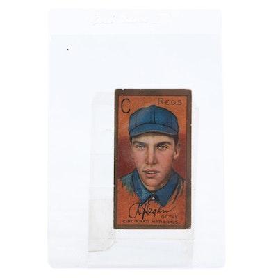 "1911 Richard Eagan Reds ""Sovereign"" Gold Border T205 Tobacco Baseball Card"