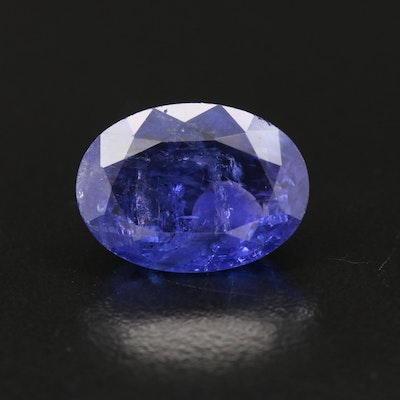 Loose 11.58 CT Tanzanite