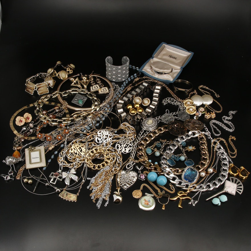 Collection of Jewelry Featuring Speidel, Whiting & Davis and Alice Caviness