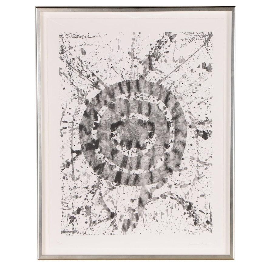 Sam Francis Abstract Lithograph, 1976