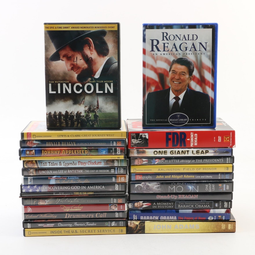 United States Period Films and Presidential Themed Collection