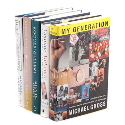 "Signed First Edition Books by Michael Gross Including ""My Generation"""