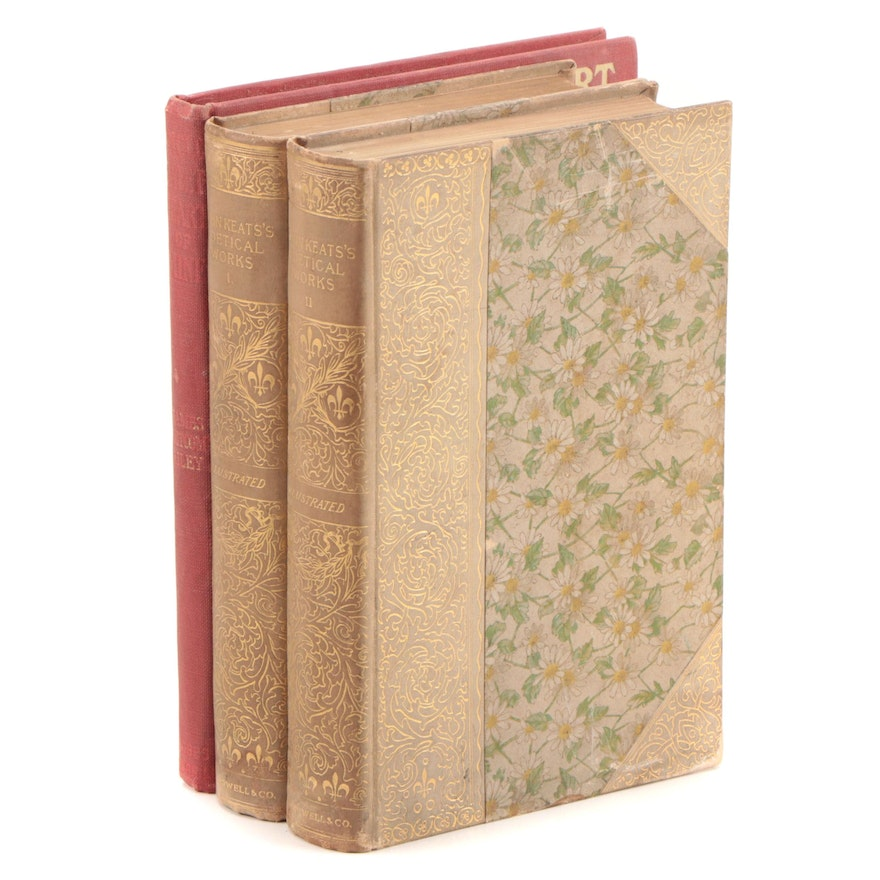 """First Edition """"An Old Sweetheart of Mine"""" with """"Poetical Works of John Keats"""""""
