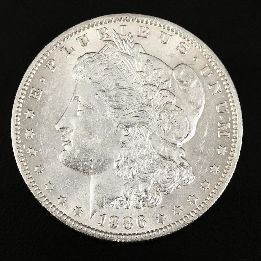 Better Date 1886-O Morgan Silver Dollar
