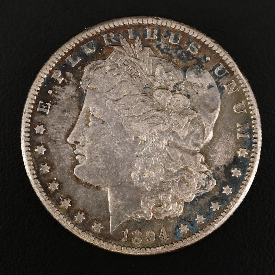 Better Date 1894-S Morgan Silver Dollar