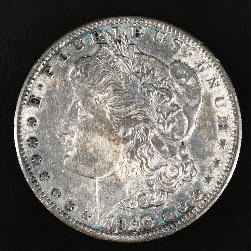 Better Date 1896-O Morgan Silver Dollar