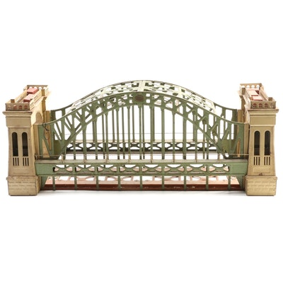 Lionel Corp. Model Train No. 300 Standard Gauge Hellgate Bridge, 1920s-1930s