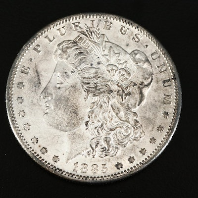 Better Date 1885-S Morgan Silver Dollar