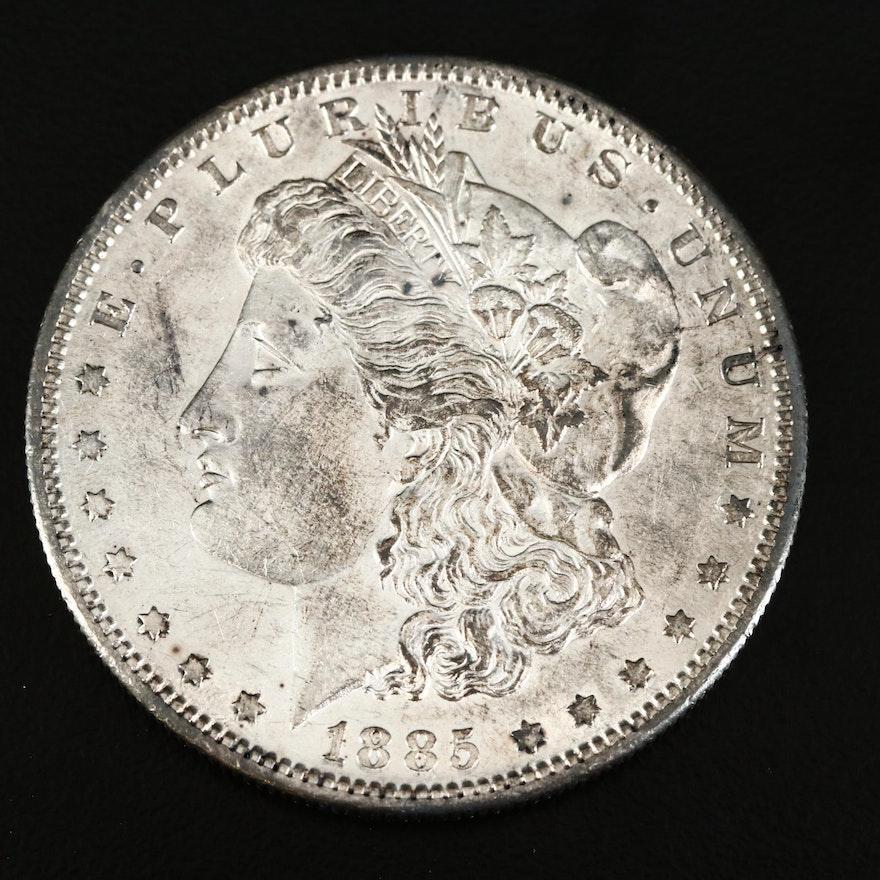 Better Date 1885-S Morgan Silver Dollar