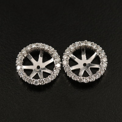 18K Diamond Earring Enhancers