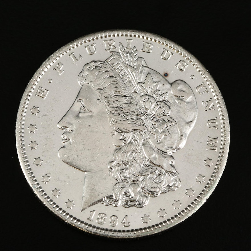Better Date Low Mintage 1894-O Morgan Silver Dollar