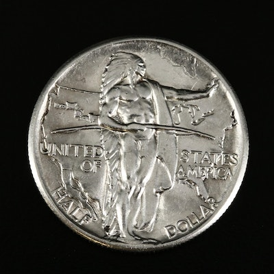 1926 Oregon Trail Commemorative Silver Half Dollar