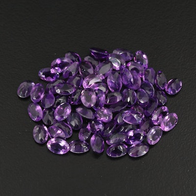 Loose 25.55 CTW Amethyst Selection