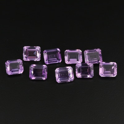 Loose 48.63 CTW Amethyst Collection