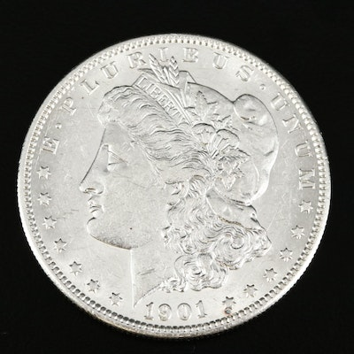 Better Date 1901-S Morgan Silver Dollar