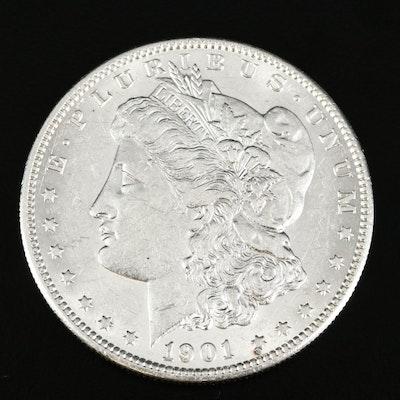 Better Date 1901-S Morgan Silver Dollar