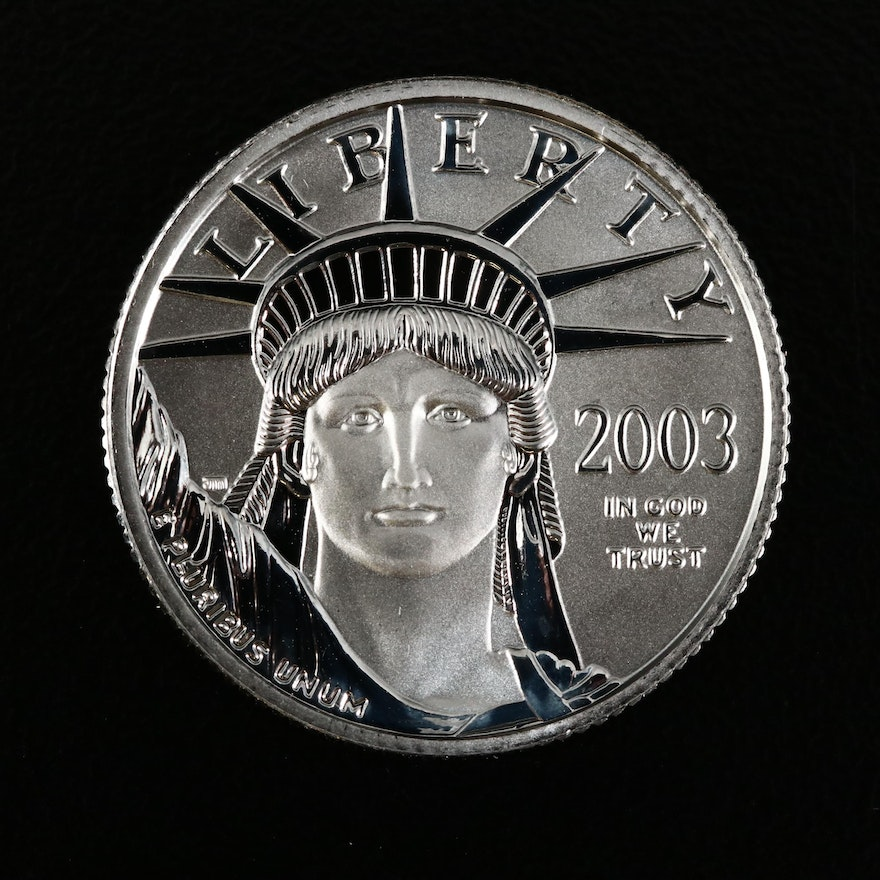 2003 $25 Platinum Eagle Coin