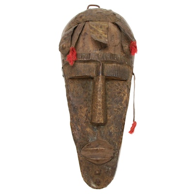 Bamana-Marka Style Hand-Carved Wood Mask, Mali
